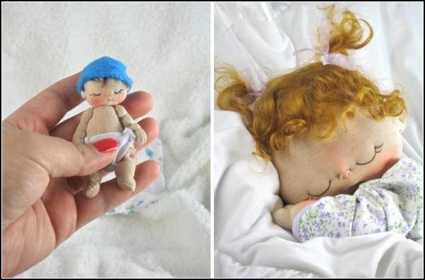 И крошечные, и большие куклы одинаково прекрасны