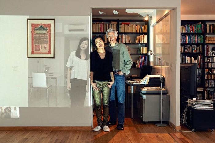 Being Together: семейные портреты через Skype. Арт-проект Джона Кланга (John Clang)