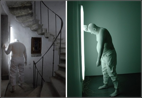 Световые скульптуры Бернарди Ройга