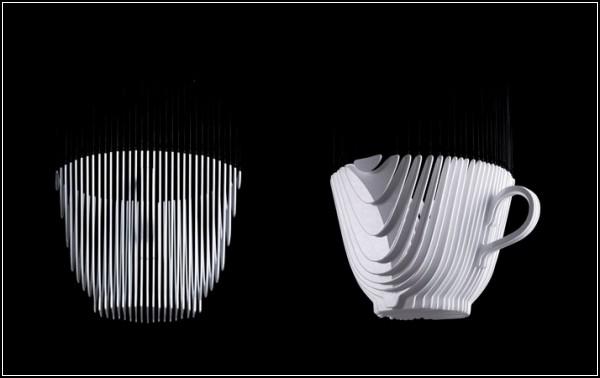 Фарфоровая скульптура *Ceci n'est pas* от Бертрана Февре