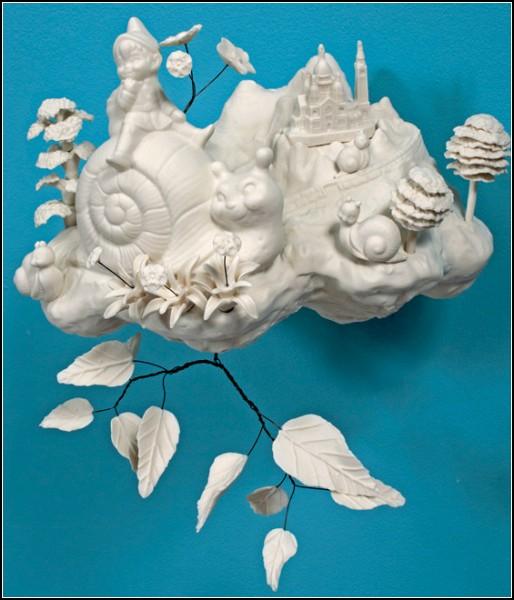 В каждой скульптуре есть *шкодинка* от Бэт Кэтлман (Beth Katleman)