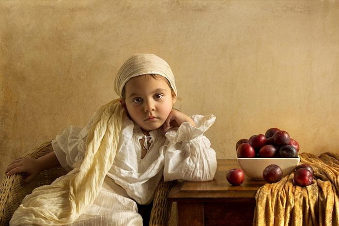 Снимки дочери в стиле картин XVIII век. Проект фотографа Билла Гекаса (Bill Gekas)