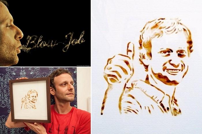 Blow Job: картины, нарисованные дымом марихуаны