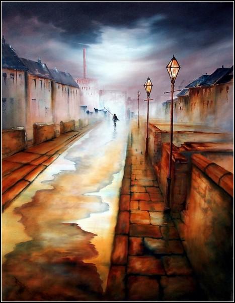 Ностальгическая живопись Боба Баркера (Bob Barker)