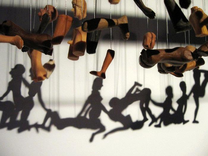 Unity. Светотеневой арт-проект от Bohyun Yoon
