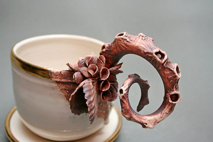 Bottom Feeders: фарфоровая арт-посуда из морской пучины