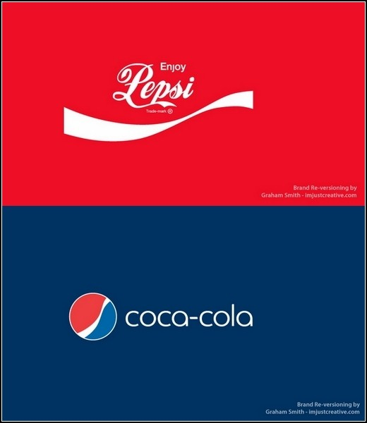 Переодетые конкуренты Coca-Cola и Pepsi