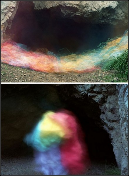 Bronson Caves. Цветные привидения Брайса Бишофа (Brice Bischoff)