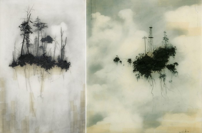 Глубокие, таинственные туманные пейзажи от Брукса Шейна Зальцведеля (Brooks Shane Salzwedel)