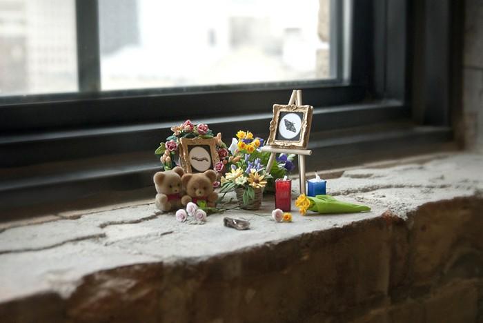 Юмористический арт-проект Bug Memorials