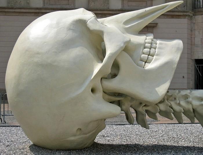 Гигантский скелет Calamita Cosmica