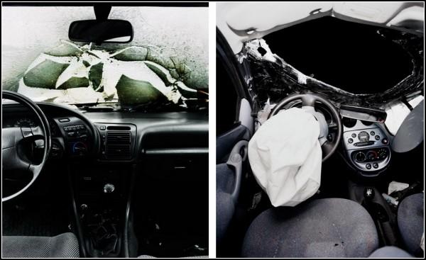 Автомобили после ДТП. Проект Car Crash Studies