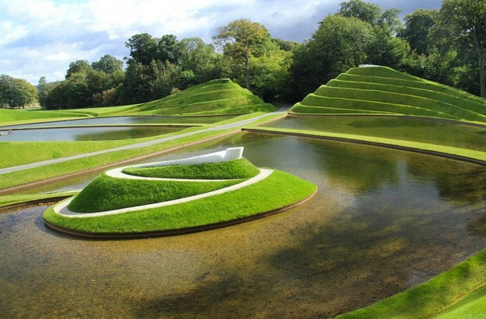 Garden of Cosmic Speculation. Садовое искусство Чарльза Дженкса