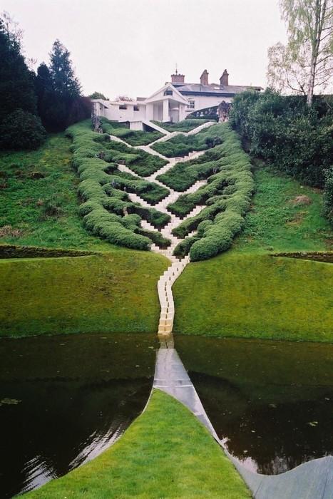 Великолепие ландшафтного дизайна. Садовое искусство Чарльза Дженкса
