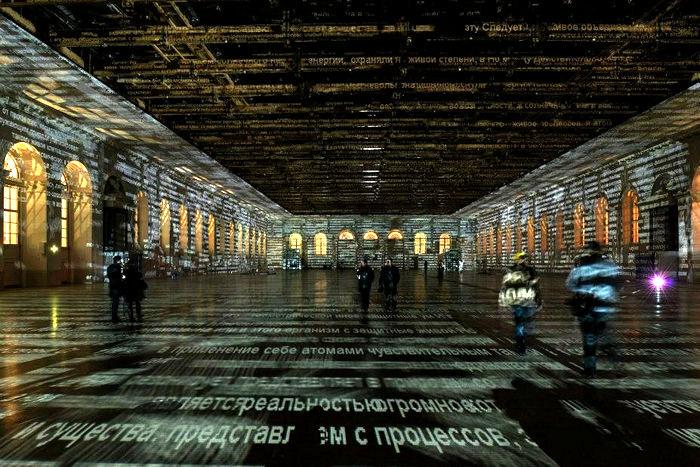 Световые инсталляции Чарльза Сэндисона (Charles Sandison)