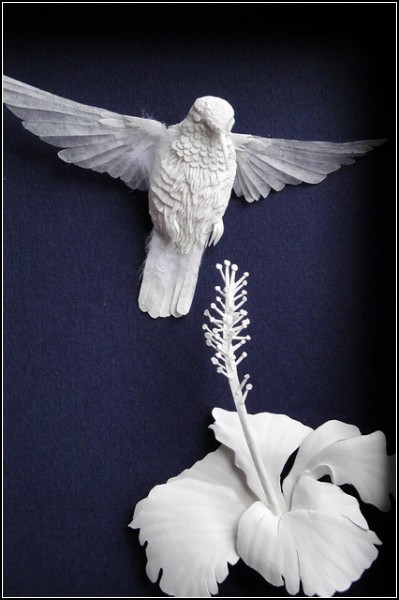 paper sculpture hwang jeong-ah (cheong-ah hwang)