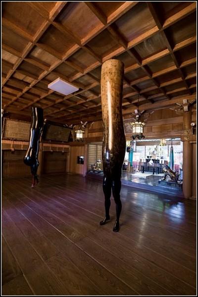 Скульптуры, твердо стоящие на ногах. Работы Чи Аоки (Chie Aoki)