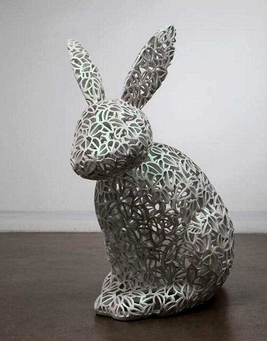 Узорчатые скульптуры от Chihyun Shin