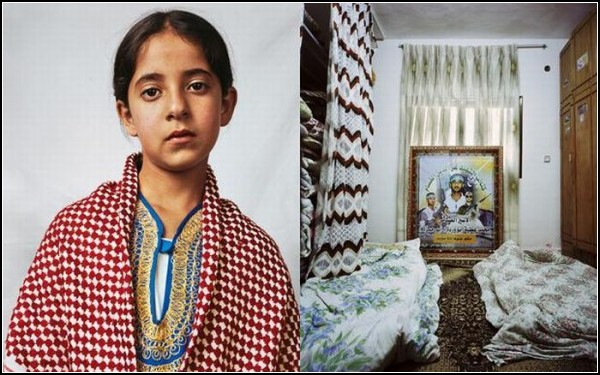 Духа, десятилетняя девочка из Палестины