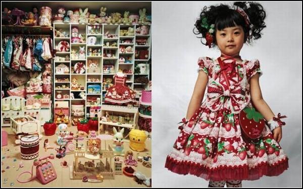 Четырехлетняя Кая из Японии