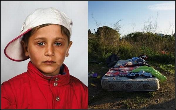Румынский мальчик-беженец