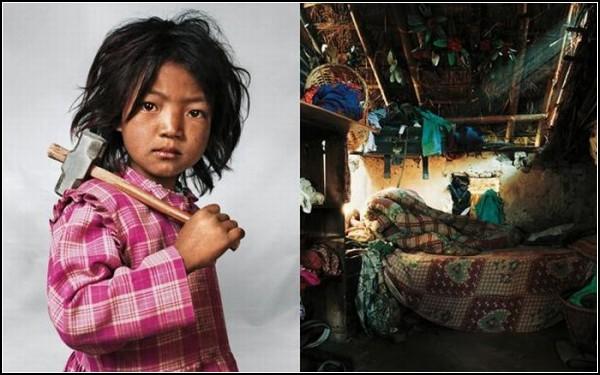 Семилетняя Индира из Катманду
