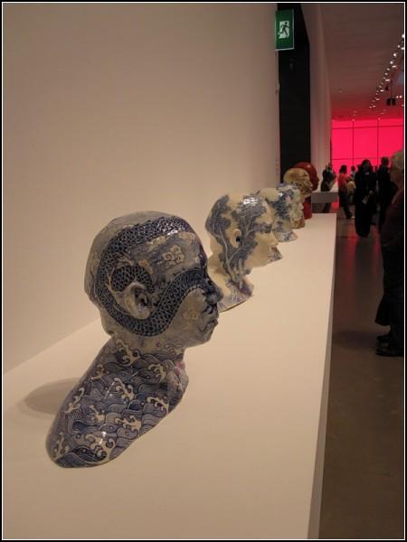 Серия фарфоровых скульптур от Ах Сиань (Ah Xian)