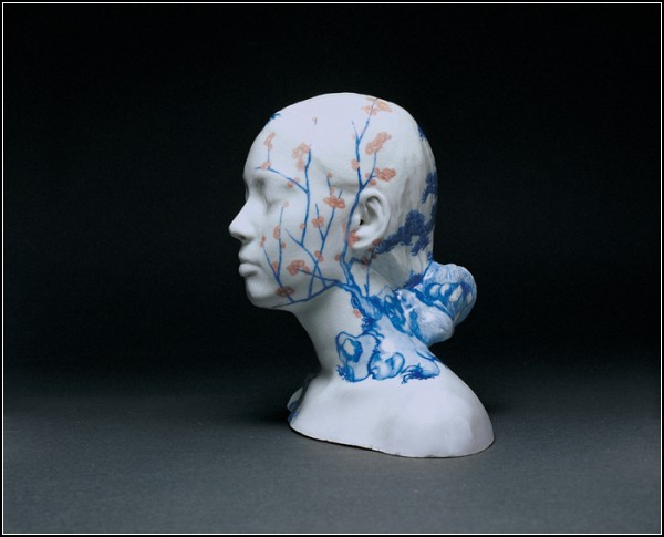 Скульптура плюс живопись. Автор Ах Сиань (Ah Xian)