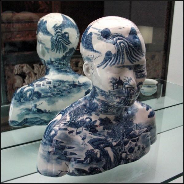 Сочетание западных форм и традиционного китайского декора