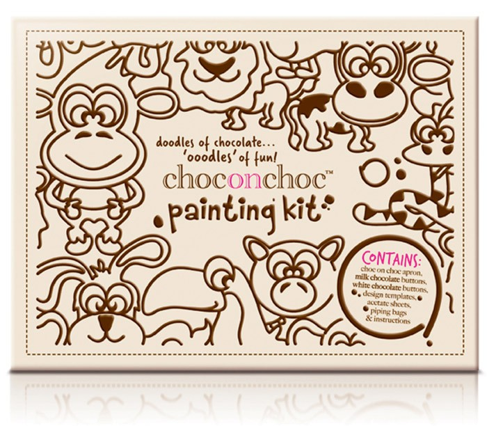 Шоколадный конструктор Choc-on-Choc House и шоколадная раскраска Painting Kit