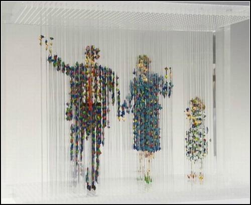 Трехмерные скульптуры Криса Дороша (Chris Dorosz)