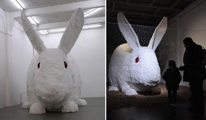 Great stuffed rabbit от Кристиана Гонзенбаха