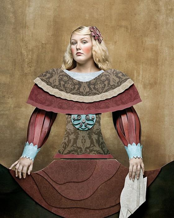 Dame Di Cartone, картонные костюмы от Кристиана Таглиавини (Christian Tagliavini)
