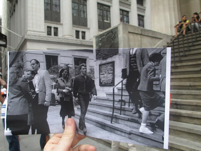 Арт-проект FILMography: кадры из фильмов и реальная жизнь