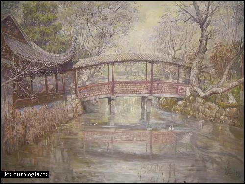 Невероятные акварели от китайского автора Chunming Yu