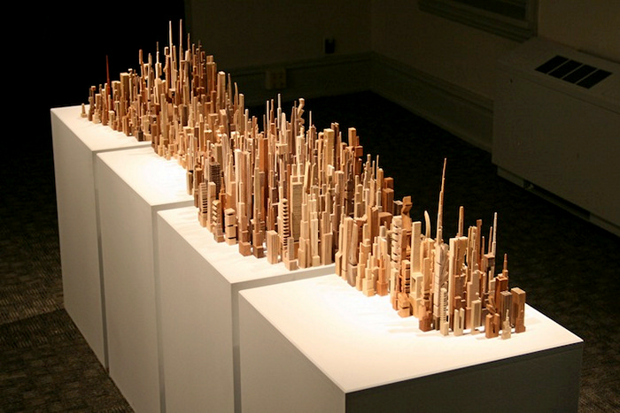 The City Series: городской пейзаж в скульптурах Джеймса МакНабба