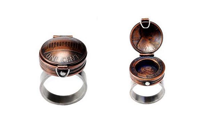 Кольца, кулоны и другие украшения из монет от Стейси Ли Веббер