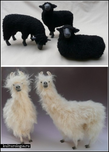 Handmade-стадо от Colin's Creatures