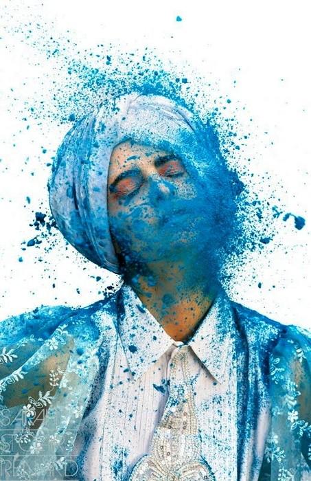 Color me crazy, яркий красочный арт-проект от Sarah St. Clair Renard
