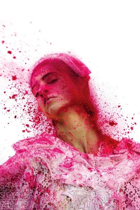 Color me crazy, fashion-съемка фотографа Sarah St. Clair Renard