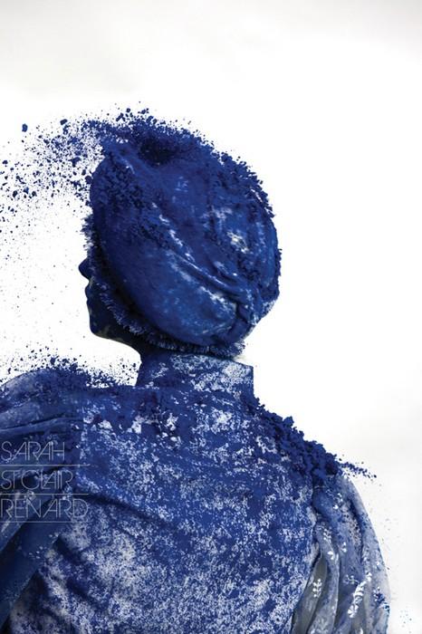 Color me crazy, или модели, испачканные пудрой