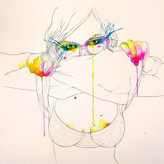 Некоммерческие иллюстрации испанского художника из серии Personal