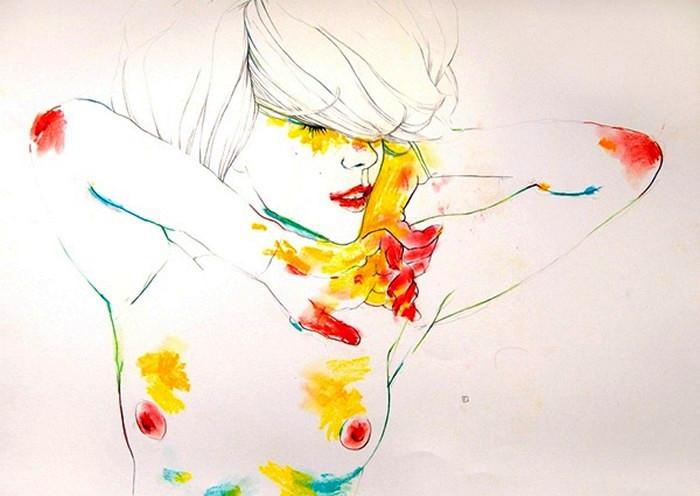 муза живописи: