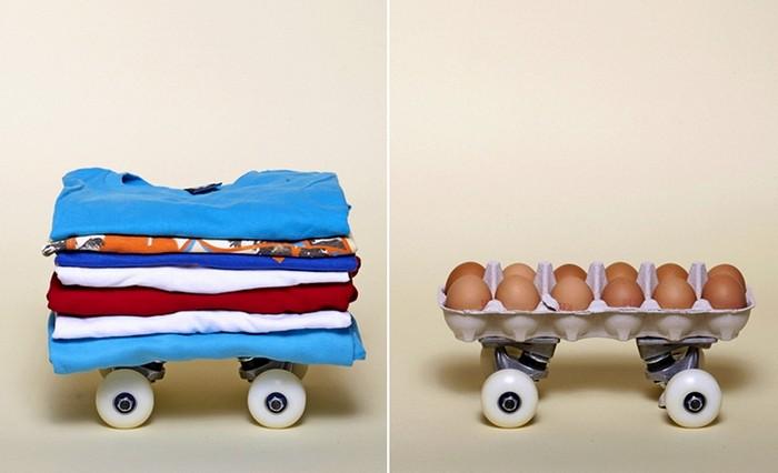 Необычные скейтборды в арт-проекте Артура Кинга
