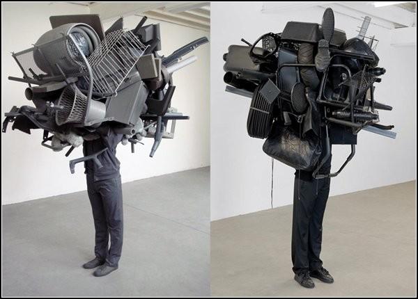 Непонятные скульптуры Даниэля Фирмана (Daniel Firman)