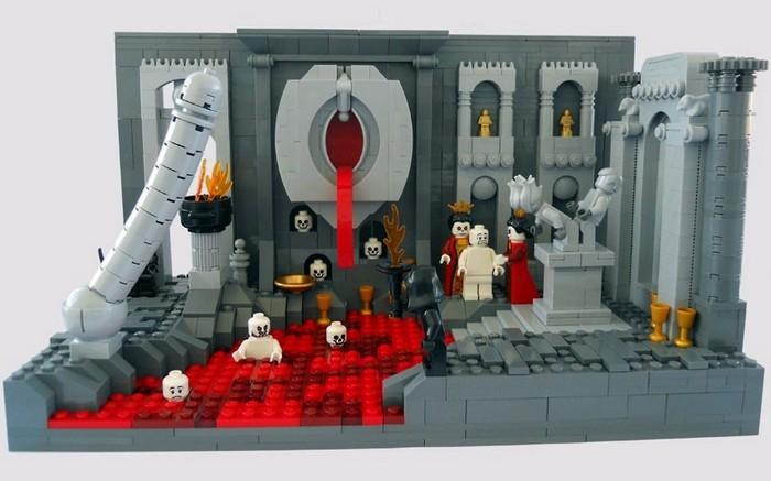 Второй круг ада из кубиков Лего