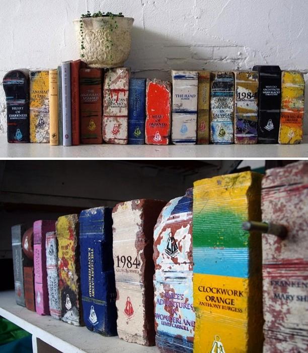 Кирпичная библиотека Дэрила Фитцджеральда (Daryl Fitzgerald)