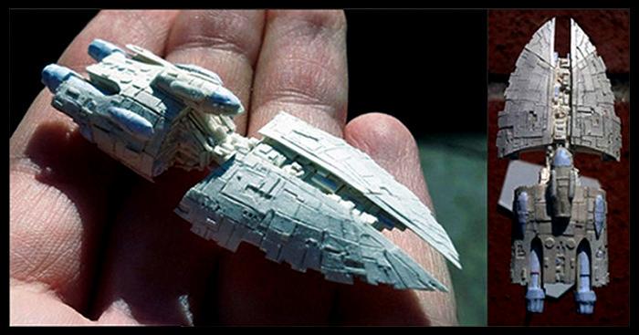 Бумажные мини-скульптуры Дэвида Канавезе (David Canavese)