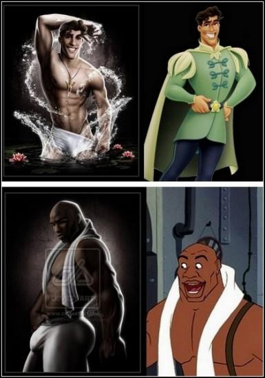 Сексуальные персонажи из мультиков