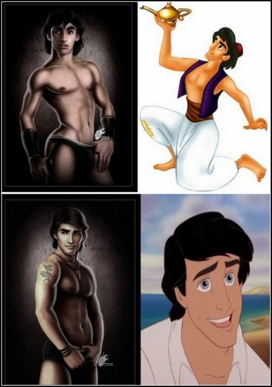 Персонажи мультфильмов секс